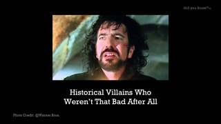 Historical Villains Who Weren't That Bad After All - Video