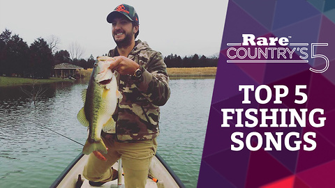 Top 5 Fishing Songs | Rare Country's 5