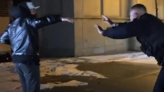 Cop Joins Dance Party - Video