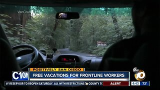 Free vacations for frontline workers