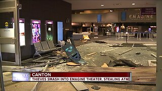Thieves smash into Emagine Theater in Canton, steal ATM