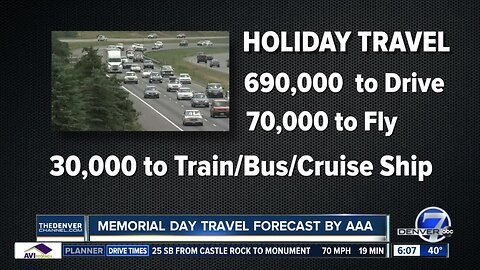 Memorial Day travel: Expect record number of drivers