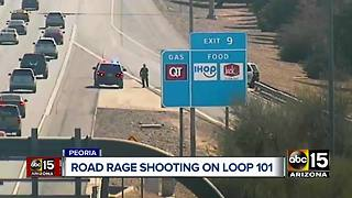 Road rage shooting being investigated in Phoenix - Video
