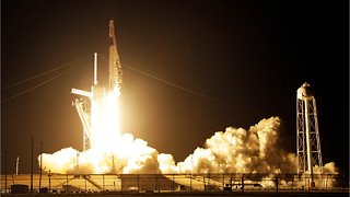 SpaceX Rockets Blasts Off
