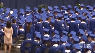 Palm Beach County School District cancels graduation ceremonies at the South Florida Fairgrounds