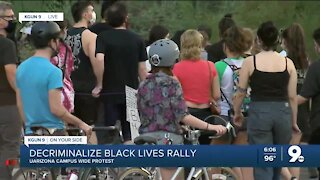 Decriminalize Black Lives rally