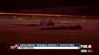 Man killed in shooting on Palm Beach Boulevard - Video