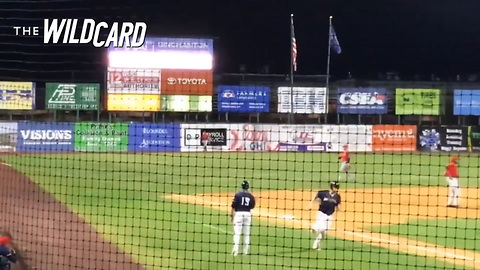 Watch: Tim Tebow Does It Again, Crushes 3-run Homer