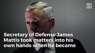 Mad Dog Mattis Takes Charge When He Discovers He Might Be Late - Video