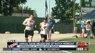 23 ABC's Scott Sheahen ran the mile during the David Nelson EOW Workout - Video
