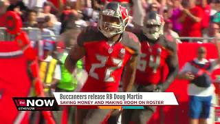 Tampa Bay Buccaneers release running back Doug Martin - Video