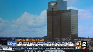 Port Covington to submit official bid for Amazon's second headquarters - Video