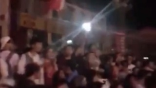 Crowds Gather on Streets as Earthquake Hits Southwest China - Video