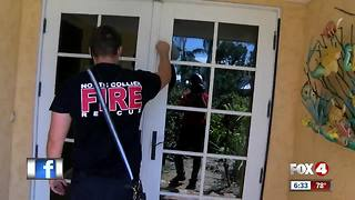 Firefighters go door-to-door checking on Collier hurricane victims - Video