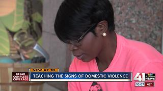 M.O.M. hopes to help end domestic violence - Video