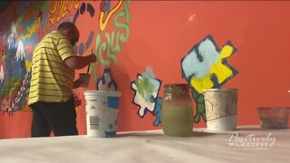 Friendship Circle re-opens with new mural