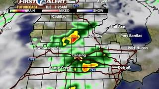 Tracking showers and storms - Video
