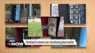 Good ol' fashion phone booths to be taken down in Cleveland - Video