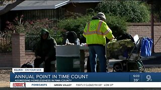 Annual point in time count helps homeless in Pima County