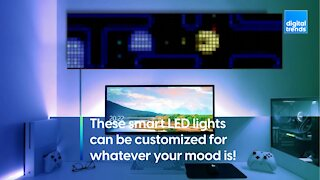 Twinkly's smart LEDs will set the mood!