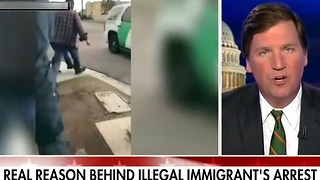 Tucker Carlson Tells Real Story Behind Video Of ICE Pulling Mother From Kids