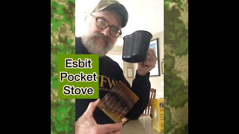 The Old School Esbit Pocket Stove