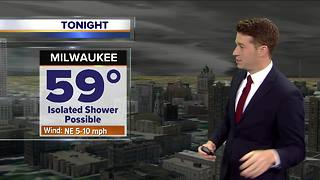 Scattered showers continue Friday morning - Video
