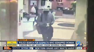 Aberdeen Police looking for two suspects who kidnapped, robbed woman - Video