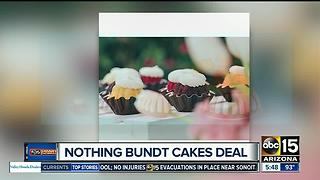 Nothing Bundt Cakes offering great deal