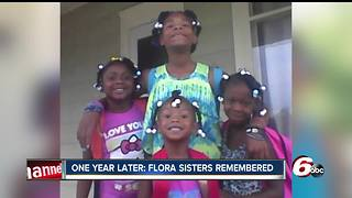 One year later: No arrest in deadly Flora fire that claimed the lives of four young sisters - Video