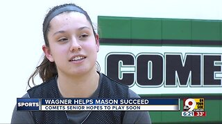 Mason basketball player Megan Wagner turns adversity into an opportunity