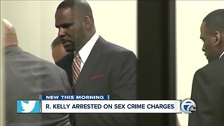 R. Kelly arrested on sex crime charges
