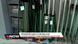 Windshield repairs in the Bay area - Video