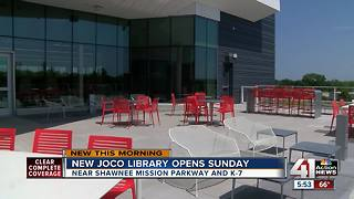New Johnson County library to open Sunday in Shawnee - Video