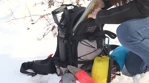 Being prepared for the Idaho back country