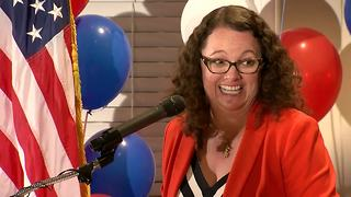 FULL VICTORY SPEECH: Kara Eastman declares victory over Brad Ashford - Video