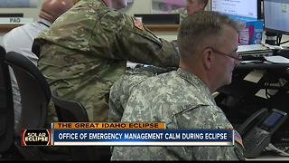 Idaho Office of Emergency Management calm for eclipse - Video