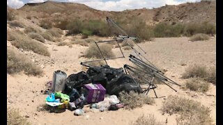 Lake Mead reminds people to pick up trash