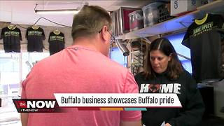 Buffalo business showcases Buffalo pride