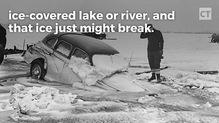 PSA: How to Survive if Your Car Breaks Through the Ice - Video