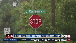 Police search for convicted felon in North Port