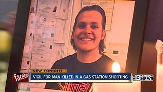 Family, friends remember teen killed in gas station shooting