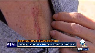 West Palm Beach stabbing survivor shares harrowing story - Video