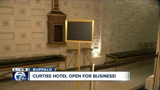 Curtiss Hotel is open for business! - Video