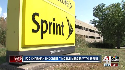 FCC chairman voices support of Sprint, T-Mobile merger