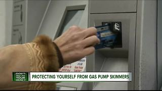 Protecting yourself from gas pump skimmers - Video