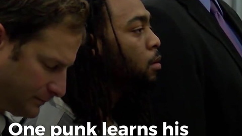 WATCH: Whimpering Punk Lands in Heap on Floor After Judge Says 3 Words