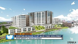 Downtown Milwaukee major condo development - Video