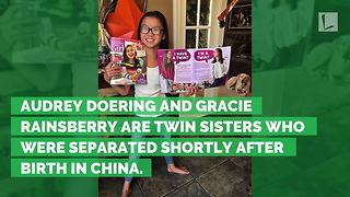 Twin Sisters Separated at Birth Reunited on TV. See Them Now, 1 Year Later - Video