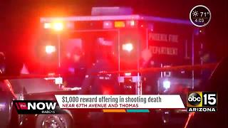 Reward being offered for info in Phoenix shooting - Video